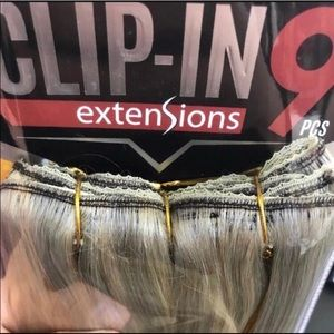 Accessories - Clipin human hair extensions color 2218and22 inch